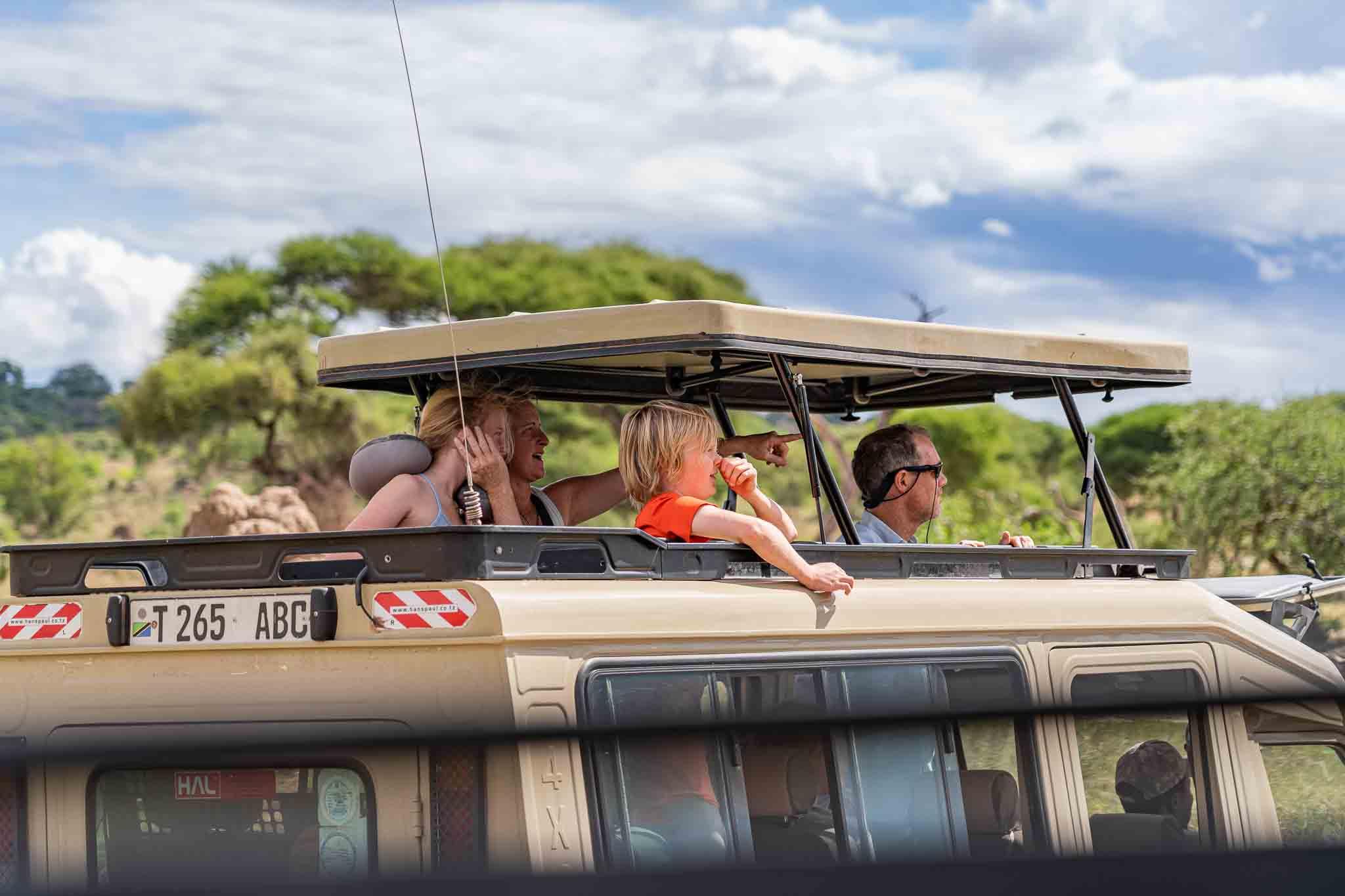family safari tanzania